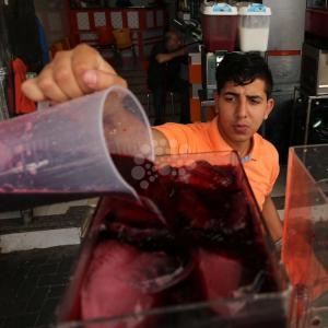 السوق الشعبي في غزة خلال رمضان