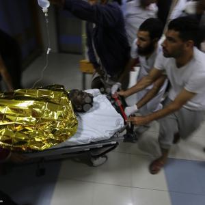 شهيد وجرحى بغارات للاحتلال على قطاع غزة