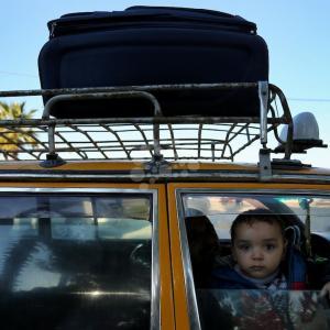 وصول عالقين لغزة عبر معبر رفح