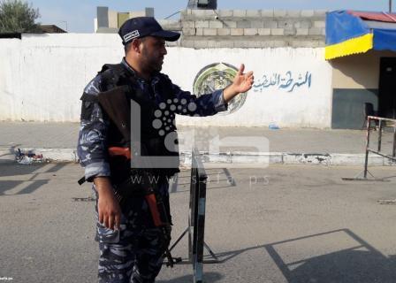 الأجهزة الأمنية تواصل الانتشار عقب التفجيرات بغزة