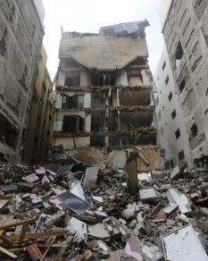 جولة ببعض المناطق المستهدفة بالعدوان على غزة