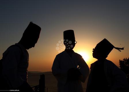 السامريون يحتفلون بـعيد الحصاد في نابلس