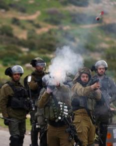 مواجهات مع الاحتلال بطوباس احتجاجا على صفقة القرن