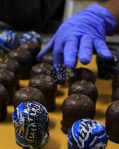 مراحل عمل حلوى الشتوي أو راس العبد