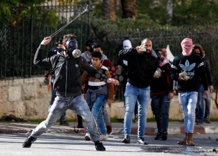 مواجهات بين المواطنين وقوات الاحتلال ببيت لحم