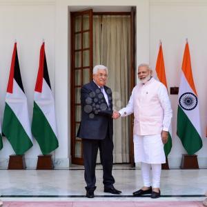 زيارة الرئيس محمود عباس للهند