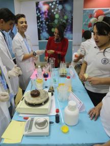 فعاليات أيام العلوم في فلسطين 2017