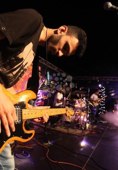 عروض موسيقية بغزة بمهرجان فلسطين الدولي