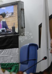 تشريعي غزة يناقش أوضاع القدس بمشاركة تيار دحلان