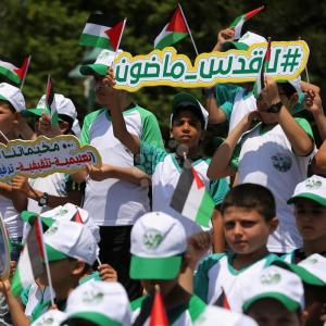 حماس تُطلق مخيمًا صيفيًا للأشبال