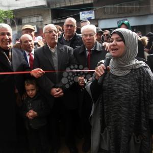 افتتاح معرض للمشغولات اليدوية بغزة