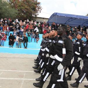 تخريج دورة صف ضباط الـ22 لشرطة غزة