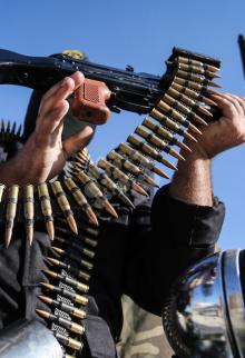 عرض عسكري لسرايا القدس في غزة