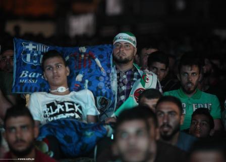 فرحة فلسطينية بفوز الجزائر ببطولة الأمم الإفريقية