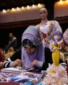 معرض منتجات مرايا فلسطينية بغزة
