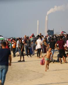 مسير بحري بالقوارب لكسر حصار غزة