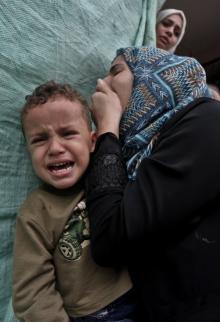 تشييع الشهيد ناجي جمال الزعانين شمال القطاع