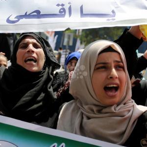 مسيرات غاضبة في غزة نصرة للأقصى