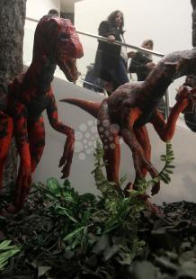 افتتاح معرض الديناصورات والحشرات العملاقة في بيت لحم