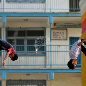 انطلاق أنشطة ألعاب الصيف بغزة