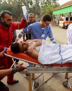 إصابات برصاص الاحتلال بمحاولة انتشال جثمان شهيد خانيونس