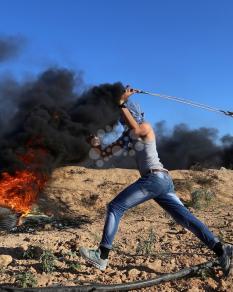 مواجهات مع قوات الاحتلال شرقي القطاع