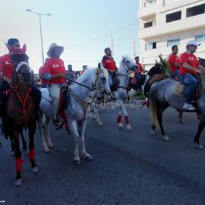 ركوب الخيل والكاراتيه ضمن فعاليات الأسبوع الأولمبي الفلسطيني