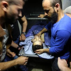 استشهاد الصياد محمد بكر برصاص الاحتلال في غزة