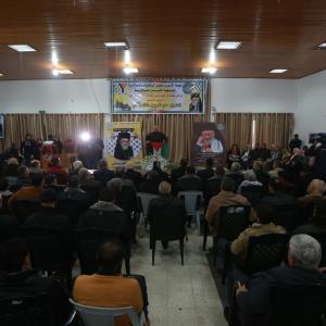 حفل تأبين للمطران كابوتشي بغزة