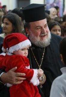 أرثوذوكس غزة يحتفلون بأعياد الميلاد