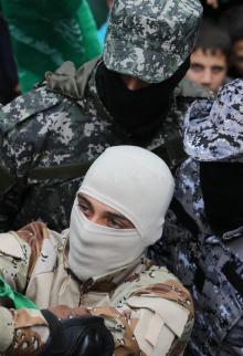 مسيرة في غزة بذكرى انطلاقة حماس ال28