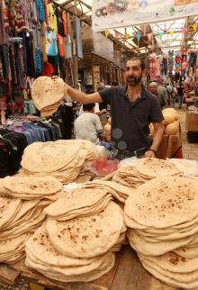 السوق الشعبي بالبلدة القديمة في نابلس