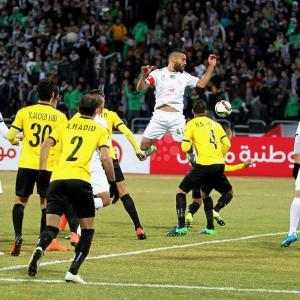 مباراة شباب الخليل والعهد اللبناني في عمّان