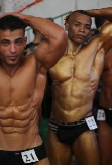 بطولة فلسطين لكمال الأجسام