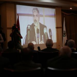 لقاء لحماس بغزة بالتزامن مع نشر وثيقتها بالدوحة