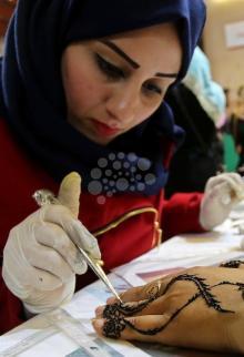 معرض منتجات نسائنا في غزة