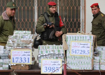 مؤتمر للداخلية والقضاء بغزة بشأن المخدرات