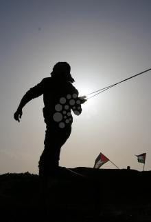 مواجهات شرقي قطاع غزة بجمعة الغضب الـ 12