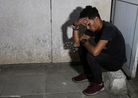 حزن على استشهاد الفتى الأسطل (16 عامًا) برصاص الاحتلال