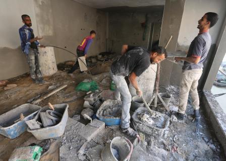 لا اجازة لعمال غزة