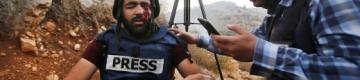الصّحفي عمارنة… عينٌ وثّقت جرائم الاحتلال ففقئت