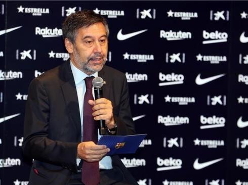 رئيس نادي برشلونة جوسيب بارتوميو