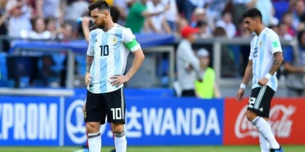 خيبة أمل الأرجنتين بعد الخسارة