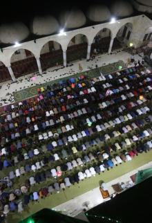 أجواء رمضانية في مدينة غزة