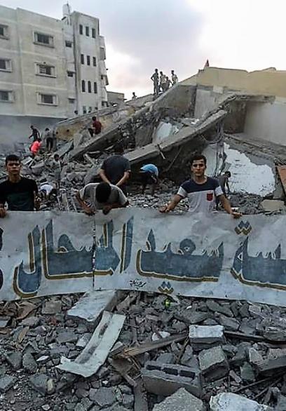 إرهاب الاحتلال يطال المؤسسات الثقافية في غزة