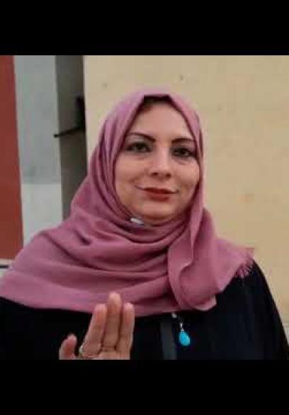 سيدة تروي تجربتها بمركز حجر في غزة