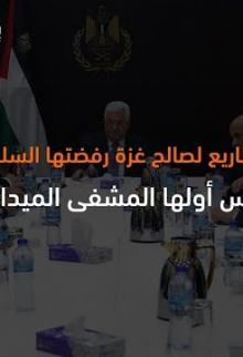 ليس أوَّلها المشفى الميداني.. قائمة مشاريع لصالح غزة رفضتها السلطة