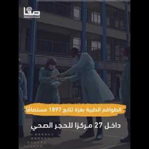 غزة بلا مواد فحص كورونا قريبا!