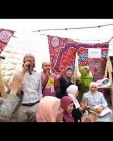 افتتاح بازار فرصة ريادية للنساء المقدسيات