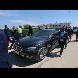 أضرار بموكب رئيس الوزراء رامي الحمدالله ورئيس جهاز المخابرات العامة ماجد فرج